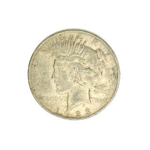 1923-D U.S. Peace Type Silver Dollar Coin