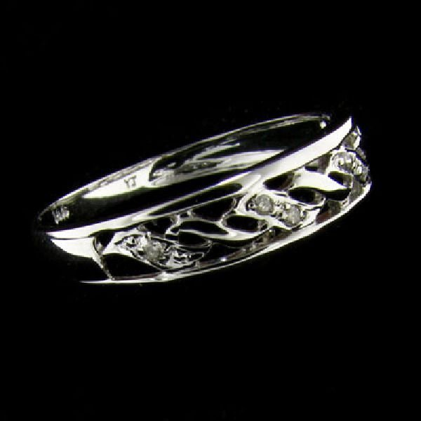 14 kt. White Gold, Diamond Ring