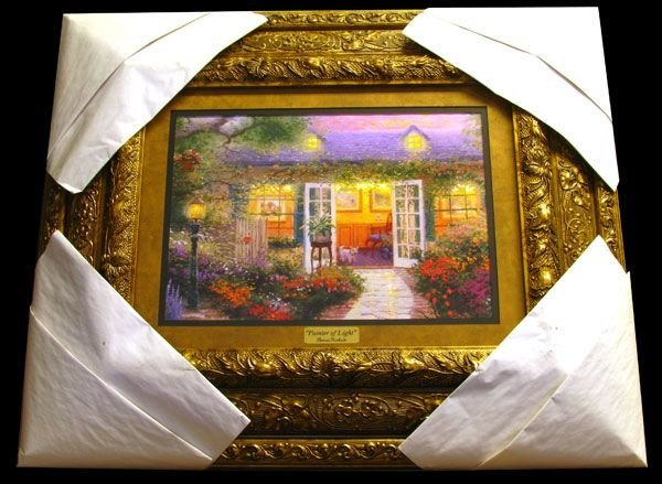 THOMAS KINKADE Painter of light - Framed Calendar Print