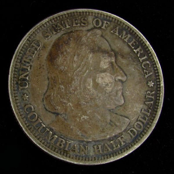 1892 Columbian Exposition Half Dollar Coin - Investment