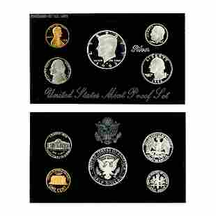 Extremely Rare 1993 U.S. Mint Silver Proof Coin Set