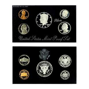 Extremely Rare 1992 U.S. Mint Silver Proof Coin Set