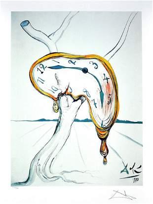 SALVADOR DALI Tearful Watch Print, 480 of 500