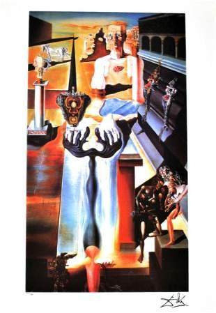 SALVADOR DALI Invisible Man Print, 251 of 500