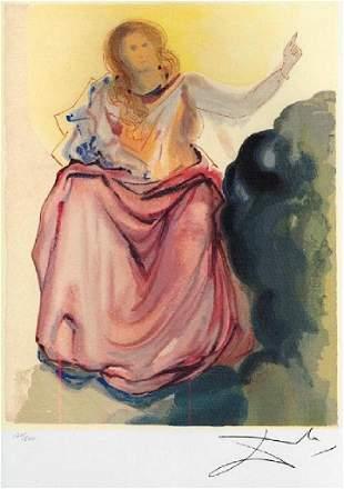 SALVADOR DALI Beatrice Resolves the Doubts of Dante