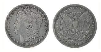 Rare 1900O US Morgan Silver Dollar Coin  Great