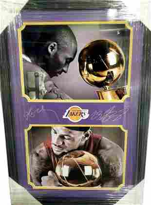 """*Outstanding Kobe Bryant and LeBron James 20"""" x 28"""""""