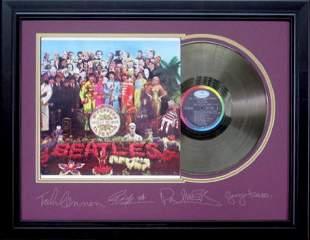 *Rare The Beatles Sergeant Pepper Vinyl Record Museum