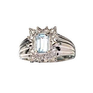 APP: 0.8k Fine Jewelry 0.75CT Emerald Cut Beryl