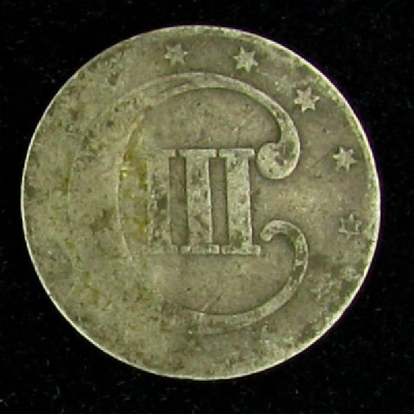 Silver Three Cent Coin - Investment