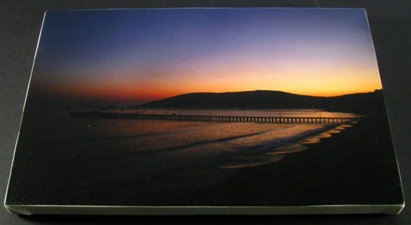 Avila Sunset - Stretched Canvas Giclée Print