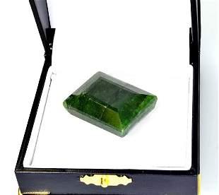 APP: 0.8k 95.69CT Rectangular Cut Green Beryl Gemstone
