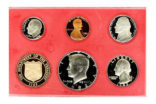 1982 United States Proof Set Coin