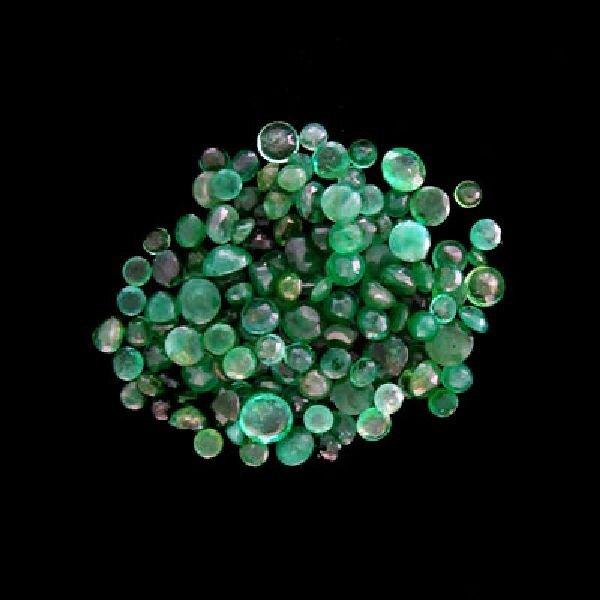 APP: $9.9k 20.55CT Round Emerald Parcel