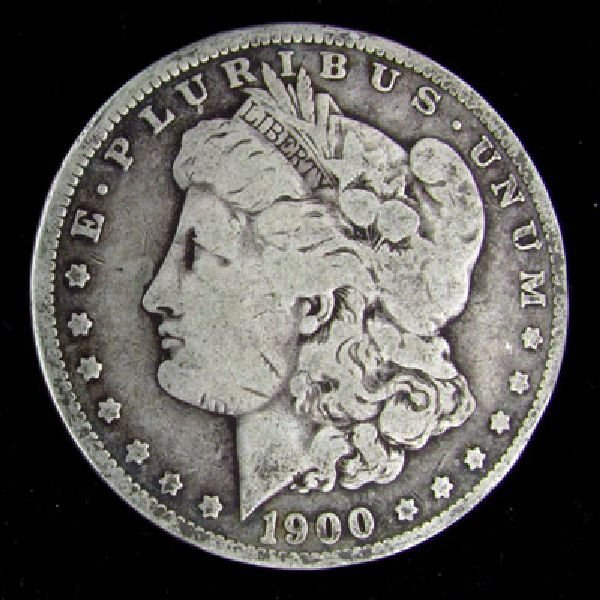 1900-O U.S. Morgan Silver Dollar Coin - Investment