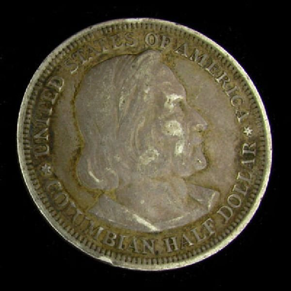 1893 Columbian Exposition Half Dollar Coin - Investment