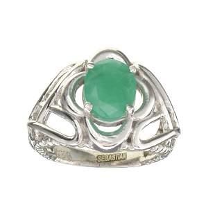 APP: 0.7k Fine Jewelry Designer Sebastian, 1.44CT Oval