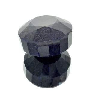 APP: 6.1k 2,423.85CT Round Cut Dark Blue Corundum