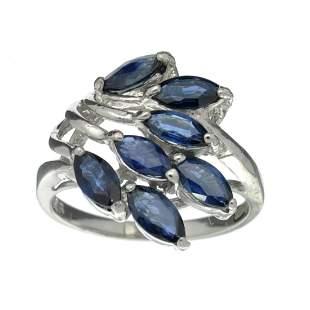 Fine Jewelry Designer Sebastian, 1.89CT Marquise Cut