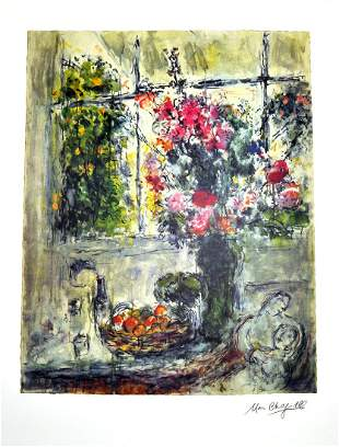 MARC CHAGALL (After) Fruit and Flowers Print, 478 of