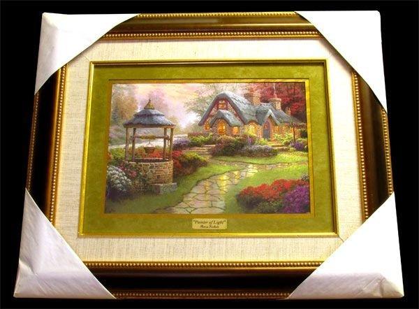 THOMAS KINKADE -Painter of Light- Framed Calendar Print