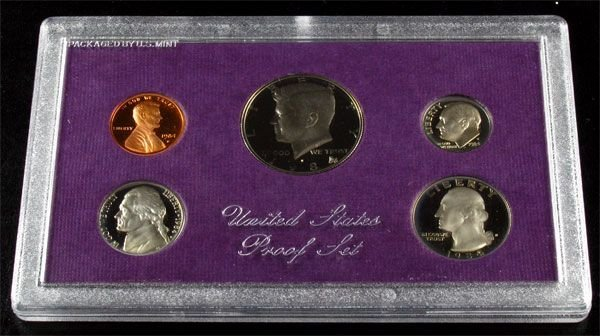 1984 U.S. Proof Set Coin - Investment