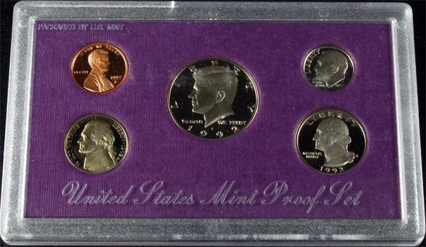 1992 U.S. Proof Set Coin - Investment