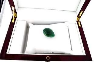 APP: 1k 55.00CT Pear Cut Green Beryl Emerald Gemstone