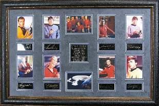 *Rare Star Trek The Original Series Museum Framed