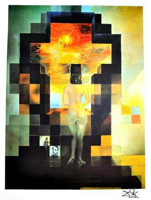 SALVADOR DALI Lincoln Dalivision Print, I 433 of 500