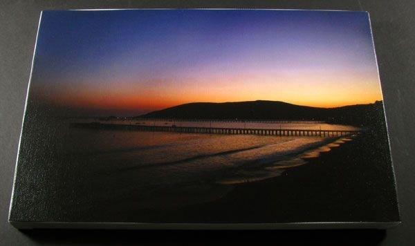 Avila Sunset - Stretched Canvas Giclée Print