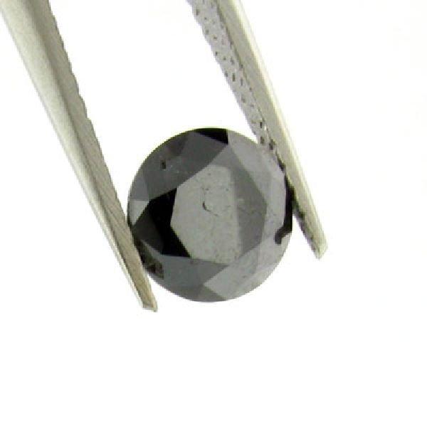 1.20CT Rare Black Diamond Gemstone