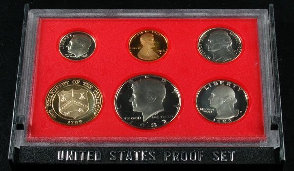 1982 U.S. Proof Set Coin - Investment