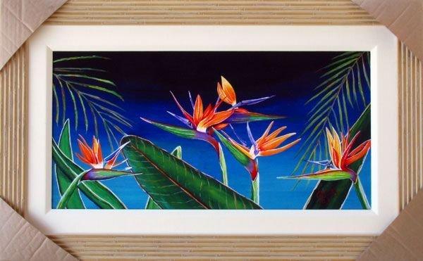 Bird of Paradise, Framed Print