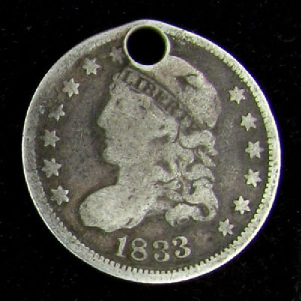 1833 Liberty Head Type Coin - Investment