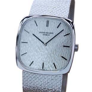 *Patek Philippe 18k Solid Gold Luxury Dress Watch Ref