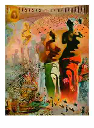 SALVADOR DALI Hallucinogenic Toreador Print, I 56 of