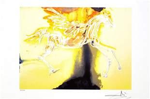 SALVADOR DALI Pegasus Print, 175 of 500