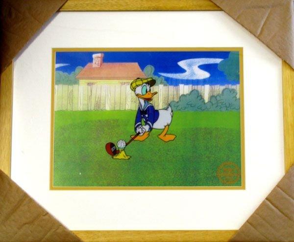 Limited Edition Walt Disney Donald Duck Serigraph