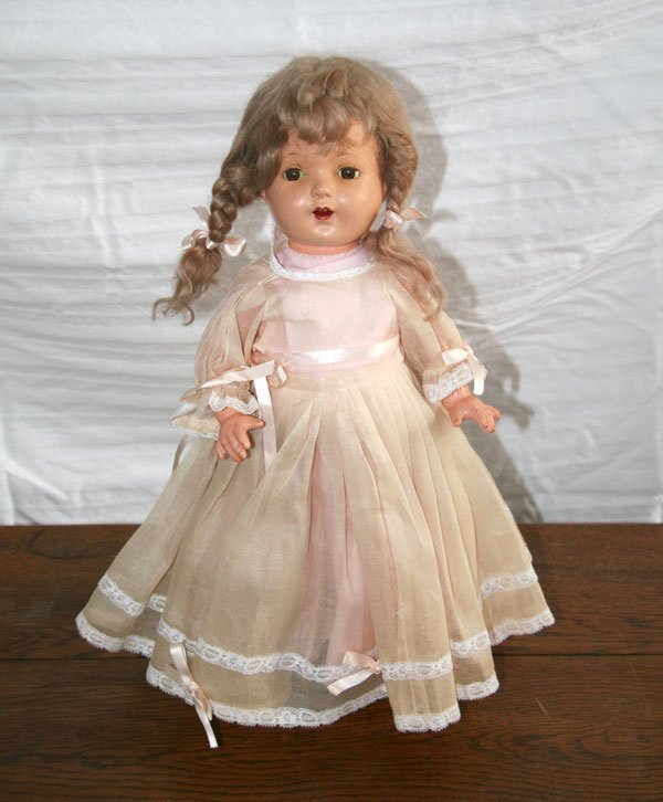 1: Early Porcelain Doll 1930's
