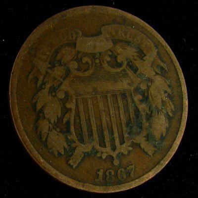 1867 Two Cent Coin - Investment