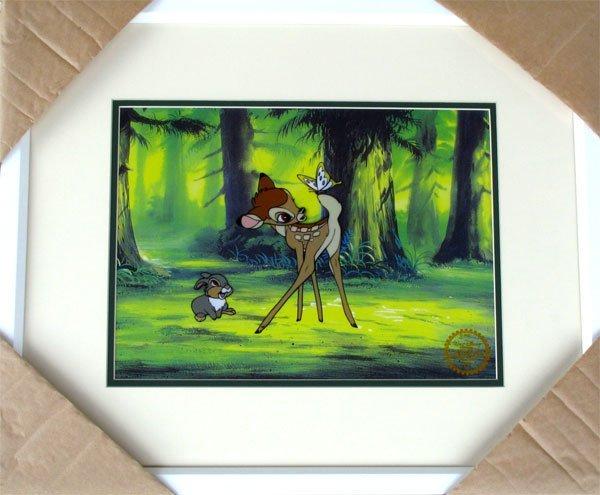 Limited Edition Walt Disney Bambi Serigraph