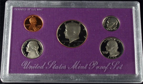 1990 U.S. Proof Set Coin - Investment