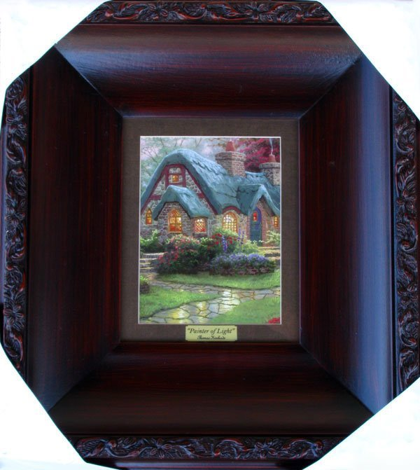 THOMAS KINKADE - Painter of Light - Framed Print