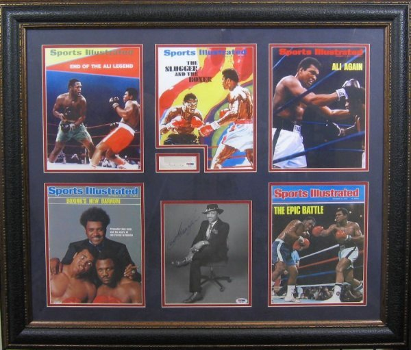 Ali & Frazier - Authentic Signatures