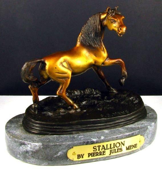 Frederic Remington Bronze Reissue - Stallion