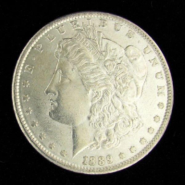 1889 Morgan Silver Dollar Coin - Investment