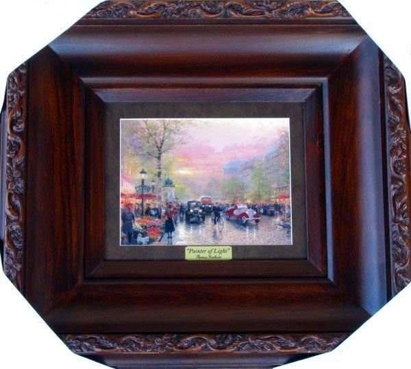 THOMAS KINKADE - Painter of Light - Framed Print