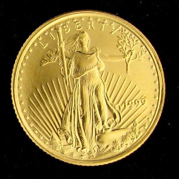 1999 1/10 Eagle Gold Coin - Investment