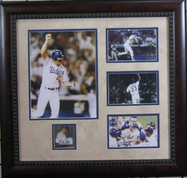 Kirk Gibson - Authentic Signature